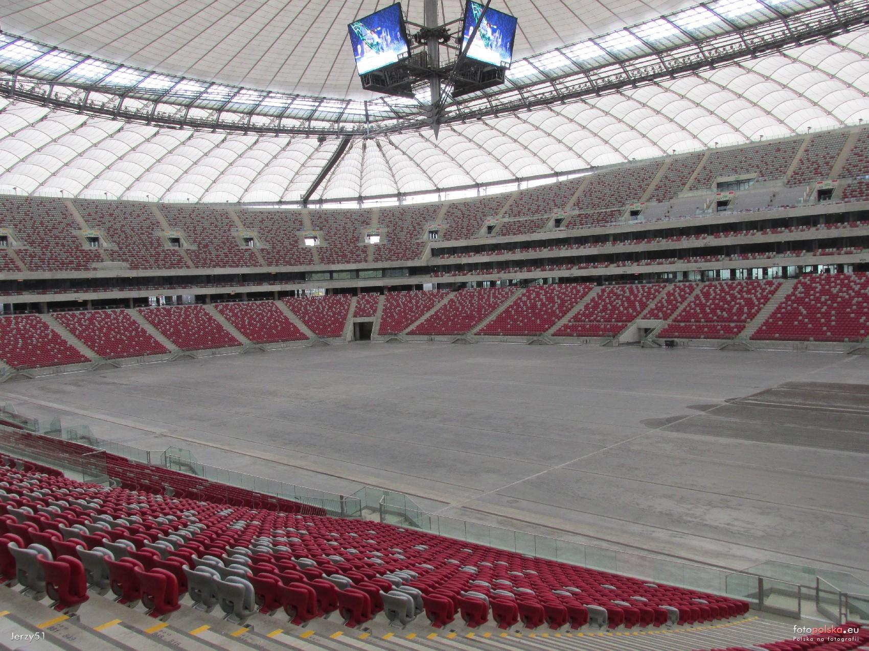 Widok Z Trybun Stadionu Narodowego